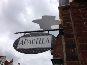 Bespoke projection sign North St. Chichester