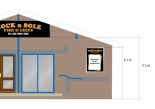 Planning permission drawings for rock n Sole