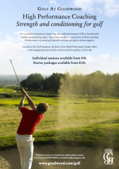 Goodwood golf Ad