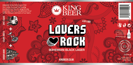KingBeer lovers rock label