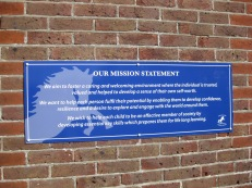 Mission Statement (aluminium composite)