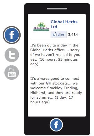 GH social media feed