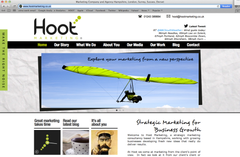 Hoot website