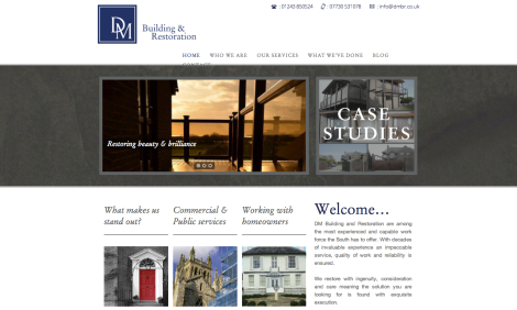 DMBR homepage