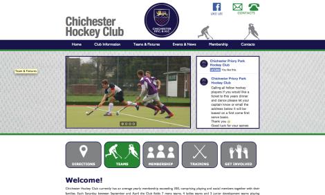 Chichester hockey homepage